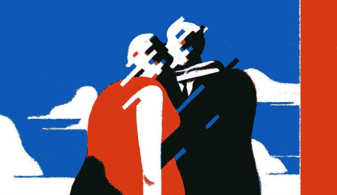 Fato e Furia - Il problema del romanzo di coppia (illustrazione di Nicola Giorgio, dettaglio)