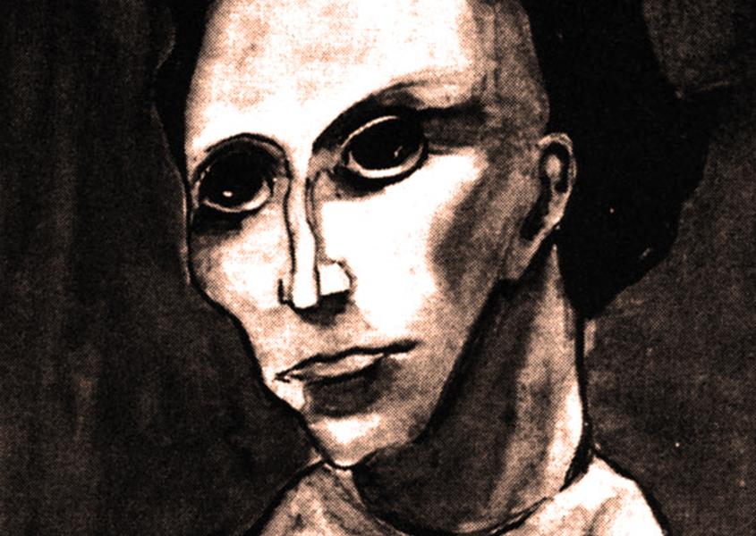 Anna Kavan, Self Portrait